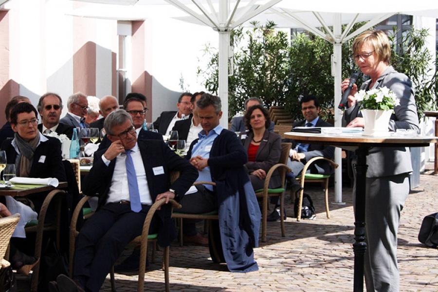 Finanzministerin Sitzmann trifft microTEC Südwest und bwcon Mitglieder
