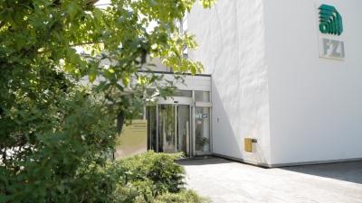Der Hauptsitz des FZI in Karlsruhe.