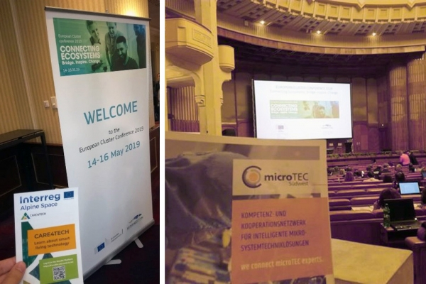microTEC Südwest at the  European Cluster Conference 2019