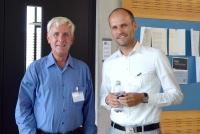 v.l.n.r. Willem van den Brink, Philips; PhD Roman Dittmar, Straumann AG
