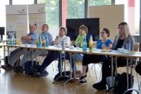 Fachgruppensitzung der Fachgruppe Oberflächen bei Hahn-Schickard im Juli