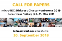 Clusterkonferenz 2019 - Call for Papers