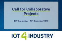 IoT4Industry – Call for Collaborative Projects