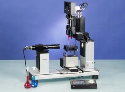 Optisches Kontaktwinkel- und Tropfenkonturanalysegerät OCA