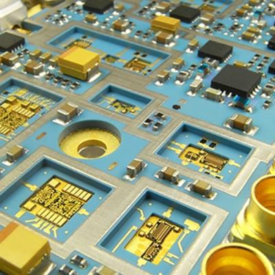 Bestückte LTCC Substrate von Micro Systems Engineering